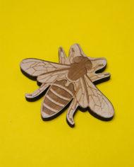 Broszka magnes pszczola