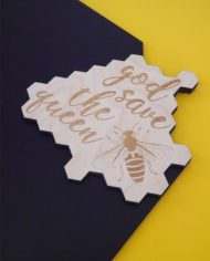 Tablica magnetyczna kredowa pszczola